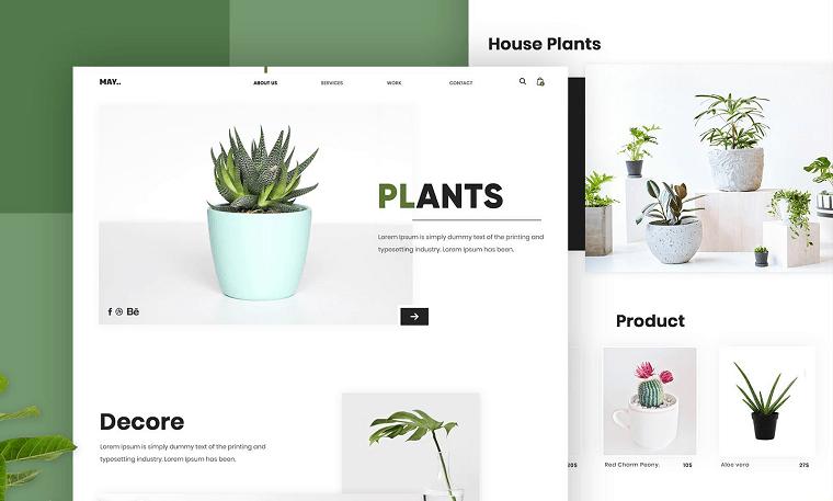сайт в стилі мінімалізм