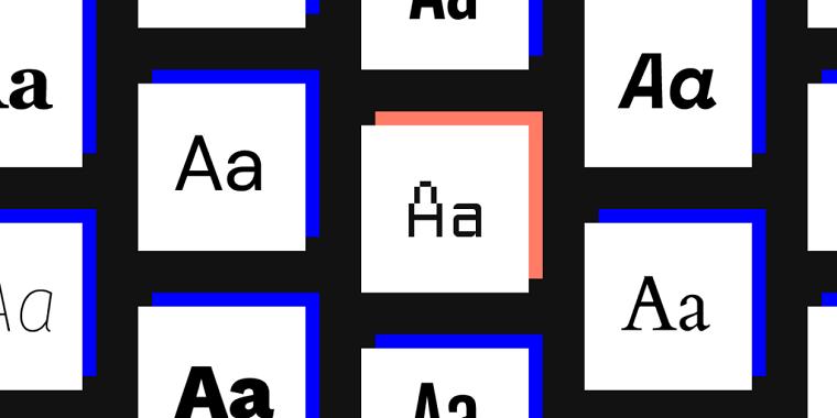 как подобрать шрифт для сайта